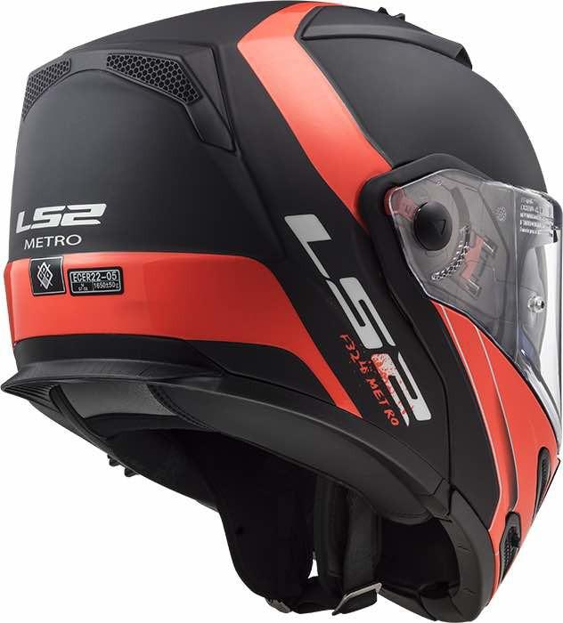 Casco moto LS2 FF324 Metro