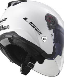 Casco moto INFINITY-SOLID jet