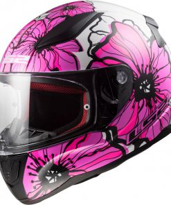 Casco moto RAPID-POPPIES Integral