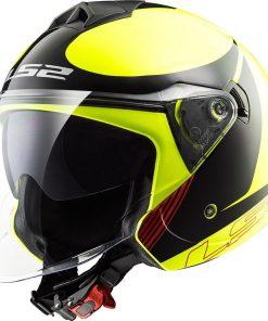 Casco moto LS2 TWISTER PLANE
