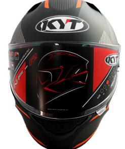 Casco moto KYT NF-R LOGOS