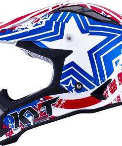 Casco moto KYT STRIKE EAGLE PATRIOT