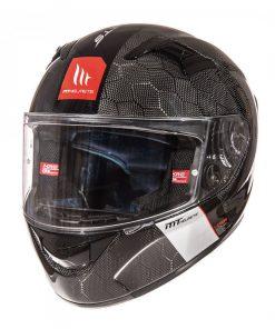 Casco moto MT KRE SNAKE CARBON
