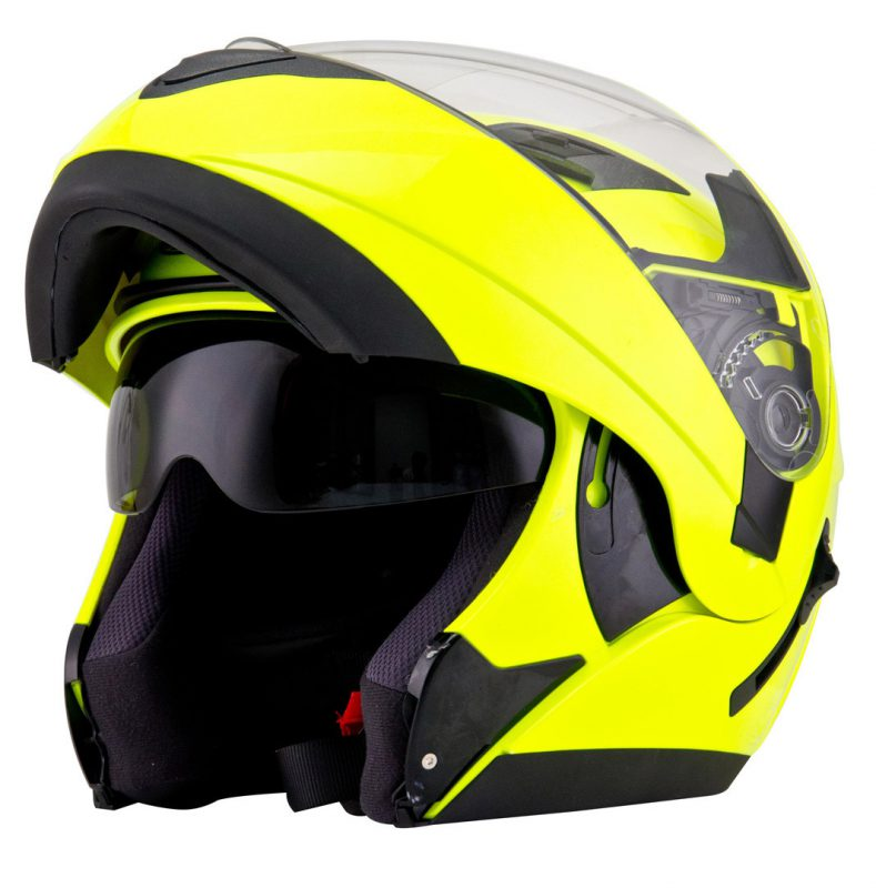 casco modular pirata motos