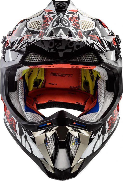 Casco moto LS2 SUBVERTER VOODOO
