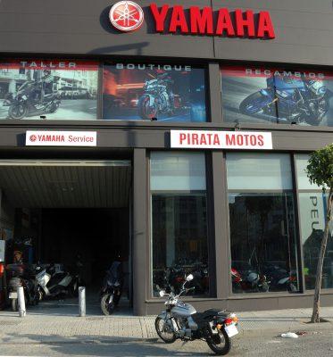 Instalaciones de Pirata Motos en Mairena del Aljarafe