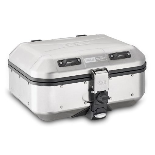 Baúl GIVI DLM30 TREKKER DOLOMITI Aluminio Natural