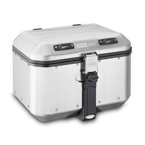 Baúl GIVI DLM46 TREKKER DOLOMITI Aluminio Natural