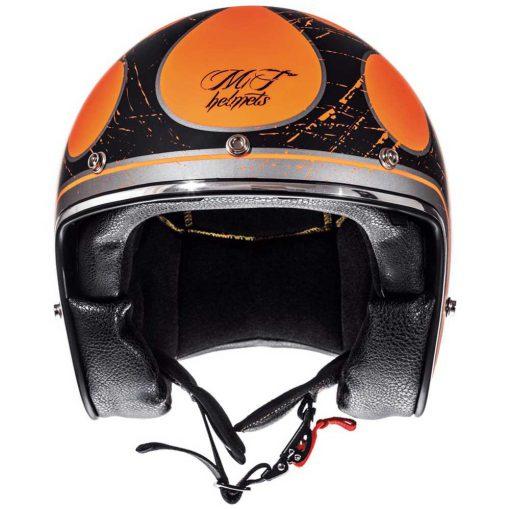 Mt Helmets Le Mans 2 SV Flaming pirata motos