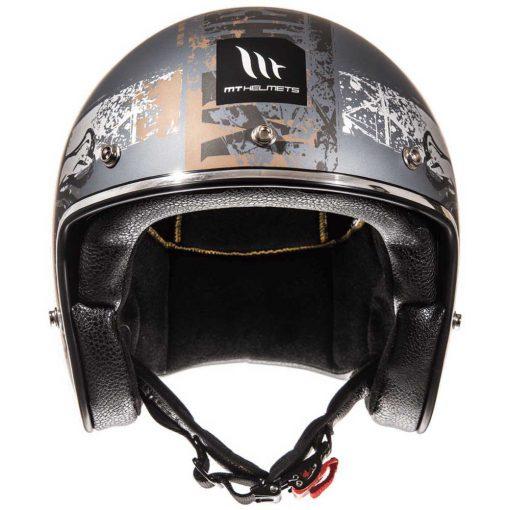 Mt Helmets Le Mans 2 SV Hardcore pirata motos