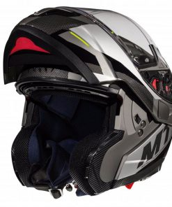 Casco MT ATOM SV TRANSCEND E2 GLOSS MATT GREY modular