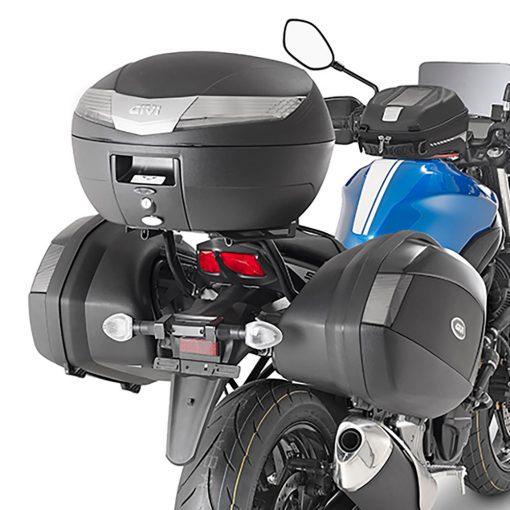V40N tech Baul moto Givi Pirata Motos