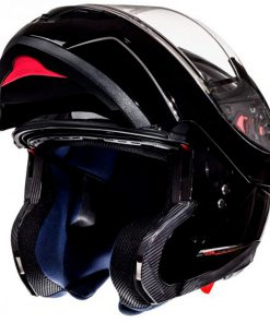 Casco MT ATOM SV SOLID GLOSS BLACK modular