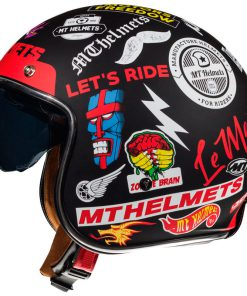 Casco MT LE MANS 2 SV ANARCHY BLACK
