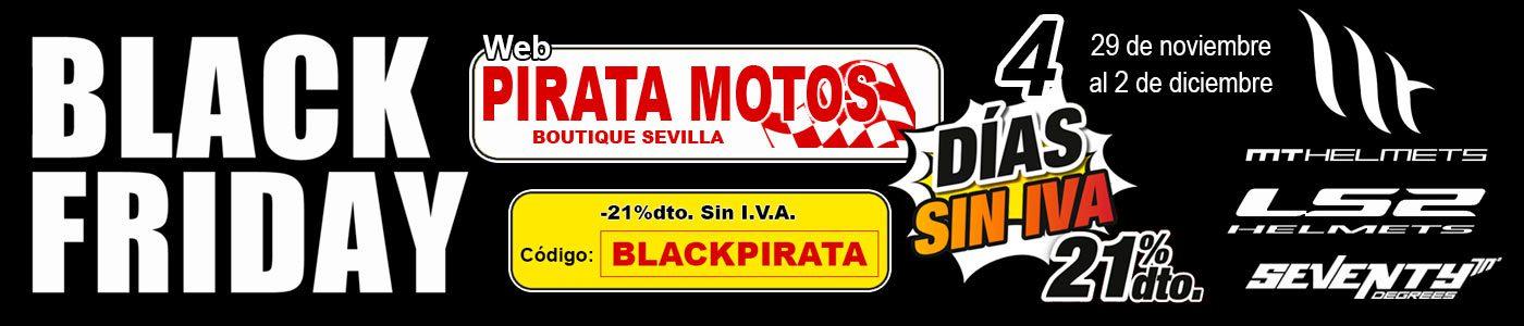 black friday pirata motos