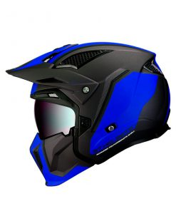 Casco MT STREETFIGHTER SV AZUL Convertible