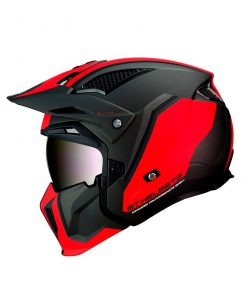 Casco MT STREETFIGHTER SV ROJO Convertible