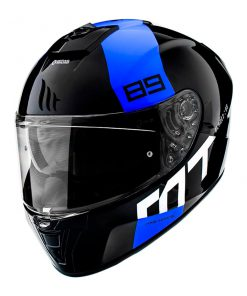 Casco MT BLADE 2 SV 89 B7 GLOSS PEARL BLUE
