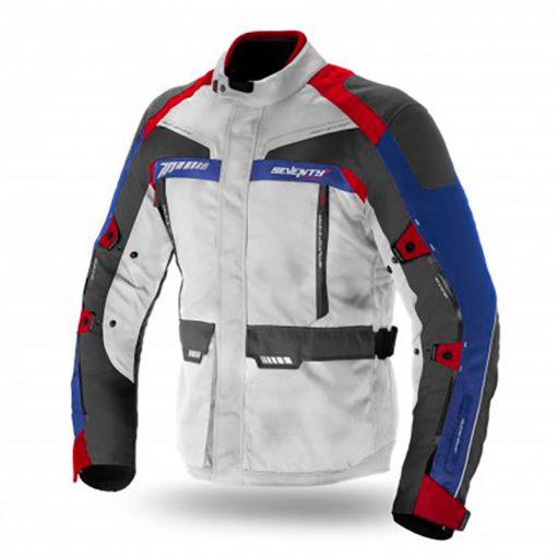 Chaqueta Seventy Degrees SD-JT43 hombre ice/roja/azul
