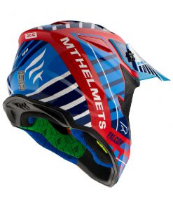 Casco MT FALCON ENERGY B5 GLOSS PEARL RED Off Road