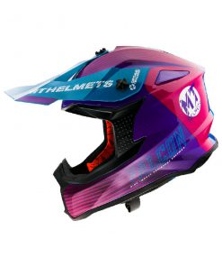 Casco MT FALCON SYSTEM B8 GLOSS PINK Off Road