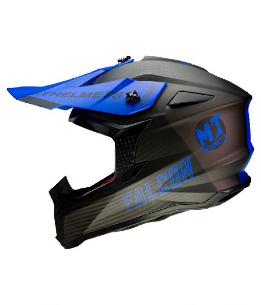 Casco MT FALCON SYSTEM D7 MATT BLUE Off Road