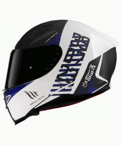 Casco MT FF110 REVENGE 2 CHRONO A7 MATT PEARL BLUE Integral