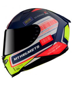 Casco MT FF110 REVENGE 2 RS A0 GLOSS PEARL BLUE Integral