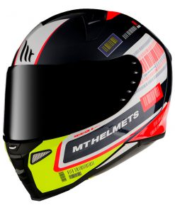 Casco MT FF110 REVENGE 2 RS A1 GLOSS PEARL BLACK Integral