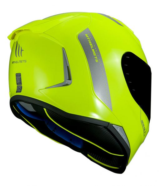 Casco MT REVENGE 2 SOLID A3 GLOSS FLUOR YELLOW Integral