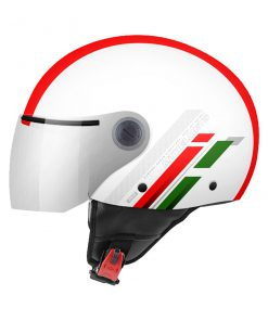Casco MT STREET SCOPE C5 GLOSS PEARL RED jet