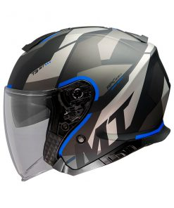 Casco MT THUNDER 3 SV JET BOW A7 MATT BLUE jet