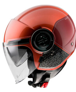 Casco MT VIALE SV BREAK A5 GLOSS RED jet