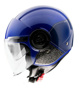 Casco MT VIALE SV BREAK A7 GLOSS BLUE jet