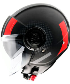 Casco MT VIALE SV PHANTOM C5 MATT RED jet