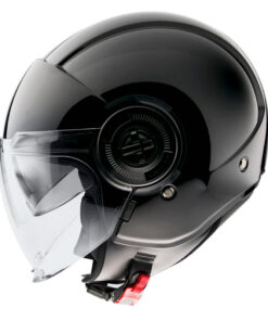 Casco MT VIALE SV SOLID A1 GLOSS BLACK jet