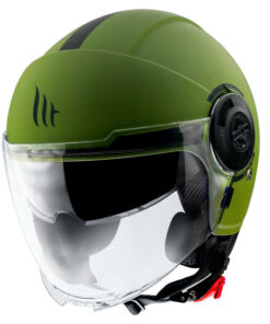 Casco MT VIALE SV SOLID A6 MATT GREEN jet