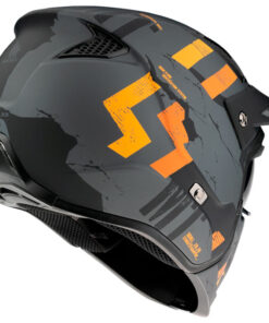 Casco MT STREETFIGHTER SKULL2020 A12 MATE GRIS Convertible