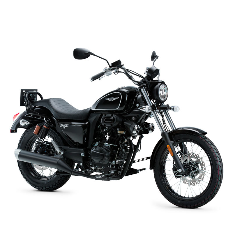 pirata motos macbor custom rockster 125