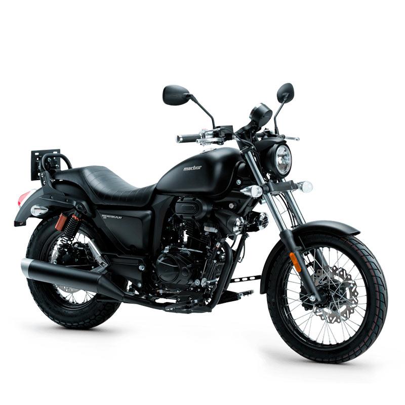 pirata motos macbor custom rockster flat 125
