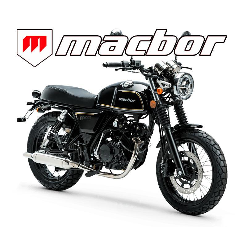 Concesionario Oficial motos MACBOR en Sevilla